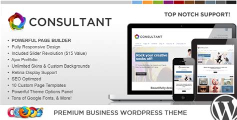 wordpress themes computer consulting wp consultant responsive multipurpose theme by