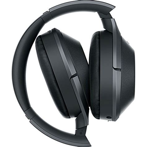 sony mdr xb black  res bluetooth wireless noise cancelling headphones  universal wood