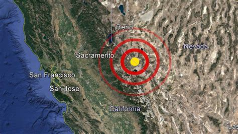 earthquake reno series of earthquakes shakes near the oregon nevada border