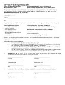 copyright contract template free 10 best images of transfer agreement template transfer