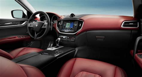maserati ghibli red interior the driver s seat june 2014