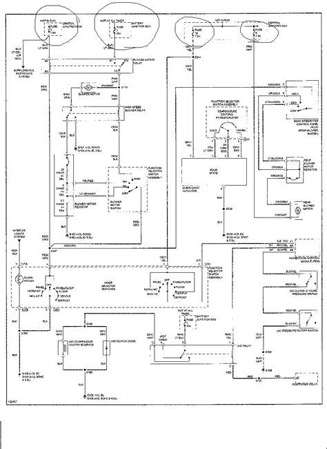 2006 ford explorer ac diagram ford auto parts catalog