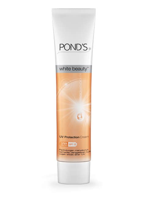 Pelembab Pond pond s white uv protection think and trial