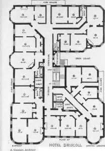 Small Hotel Designs Floor Plans by Planning The Plumbing For Hotel Buildings