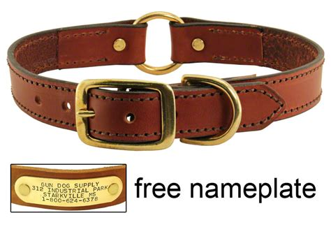 collars with name leather collar with name plate 19 95 save 5 04