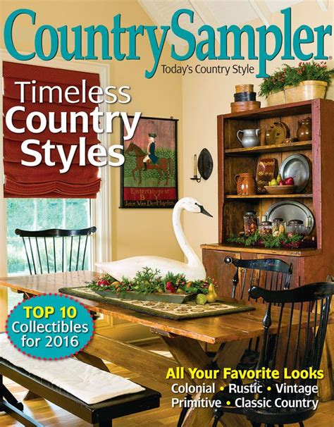 country home decor magazine 8 best images about from our january 2016 issue on