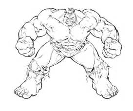 free coloring pages avengers incredible hulk