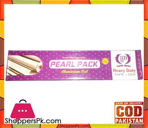 Alumunium Foil Side 100 Cm X 30 Meter Baru pearl pack aluminium foil 95 meter shoppers pakistan