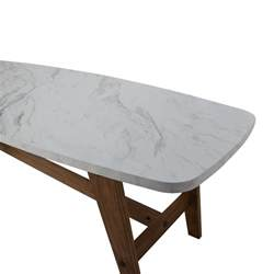 Decorative End Tables 82 Off Faux Marble Coffee Table Tables