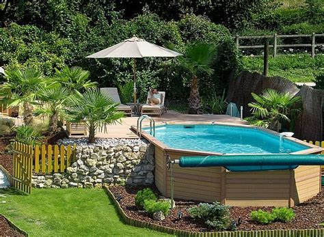 Above Ground Pool Backyard Landscaping Ideas by Backyard Ideas With Above Ground Pool Search