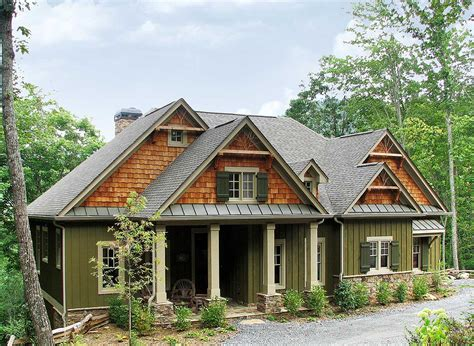 lodge house plans rustic lodge home plan 15655ge 1st floor master suite
