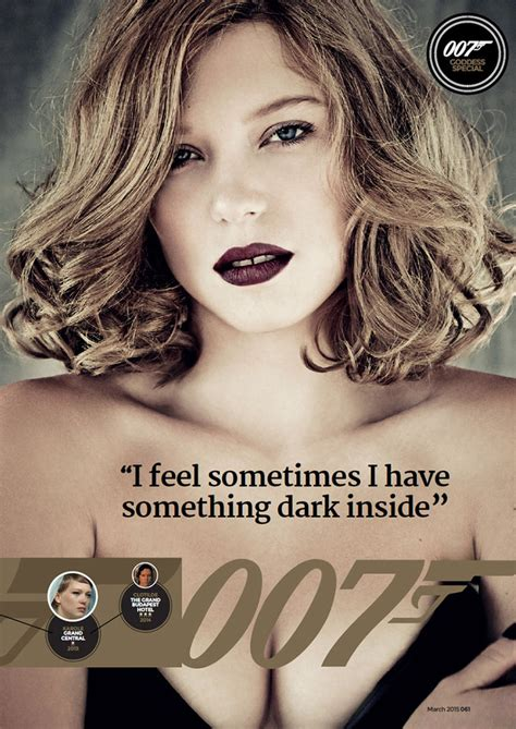 lea seydoux fan mail spectre magazine photos with new bond girl lea seydoux