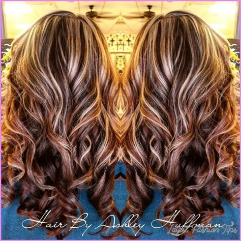 chocolate brown hair with gold highlights chocolate brown hair colors new hair color ideas chocolate brown hair with highlights latestfashiontips