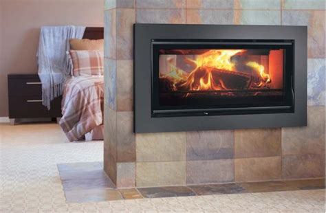 Combustion Fireplaces by Carbel C Collection Sided Closed Combustion Fireplace