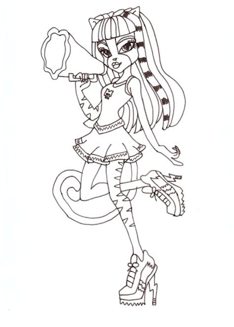 monster high coloring pages pinterest free printable monster high coloring pages meowlody