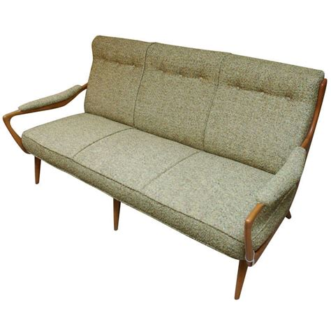 1940 sofa styles 1940 s italian sycamore sofa at 1stdibs