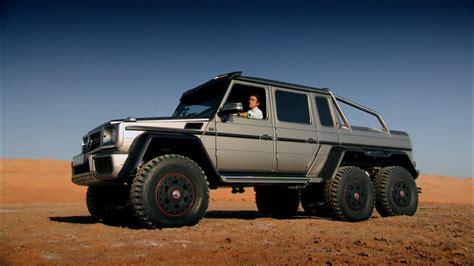 mercedes jeep 6 wheels top gear mercedes amg 6x6