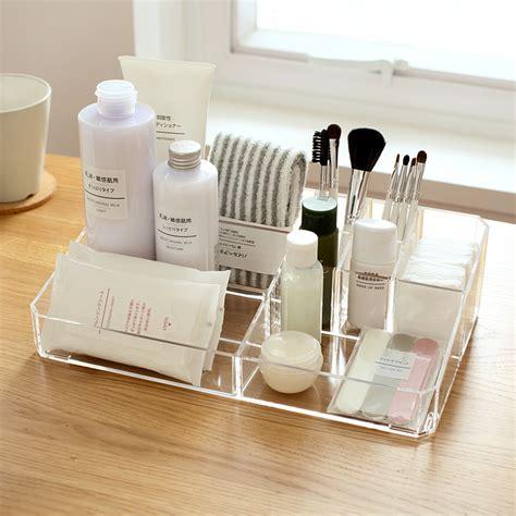 aliexpress buy acrylic makeup organizer aliexpress buy 9 lipstick holder display stand clear acrylic cosmetic organizer makeup