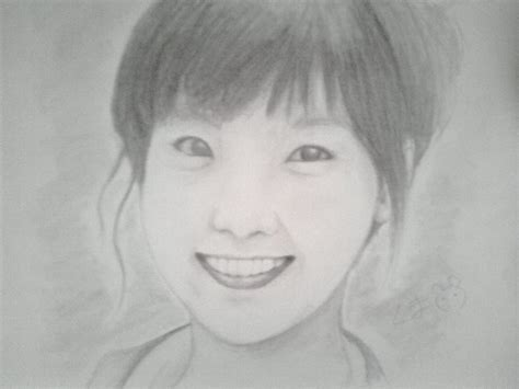 Taeyeon Sketch taeyeon sketch by iskeypx on deviantart