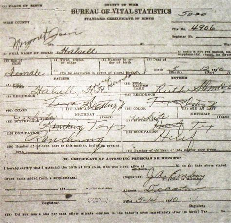 Ross County Ohio Birth Records Wise County Birth Certificates 1900 1930 S Last Names H Q