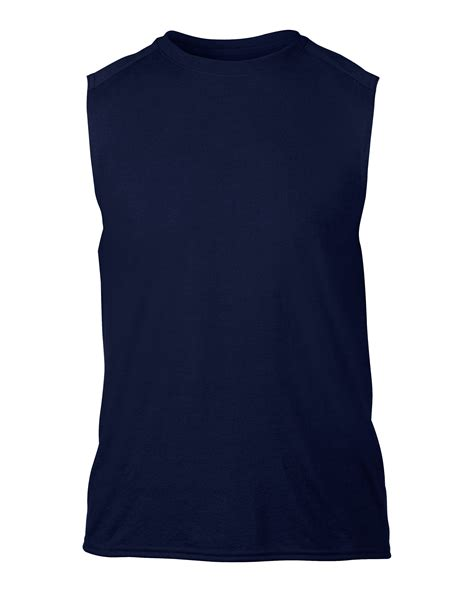 sleeveless knitted jersey pattern gildan mens performance sleeveless jersey knit t shirt