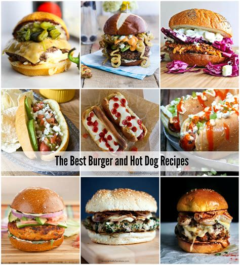 best burger cookbook the best burger and recipes the idea room