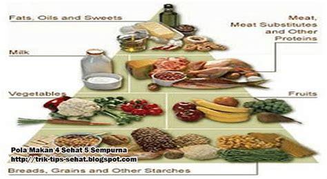 pola makan 4 sehat 5 sempurna
