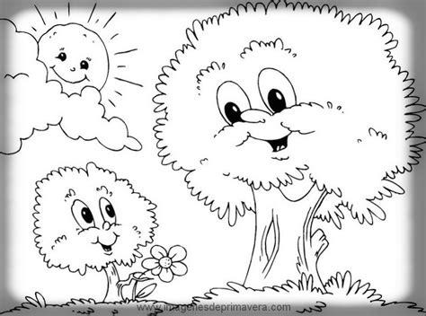 imagenes para dibujar faciles de la primavera im 225 genes primaverales para colorear im 225 genes de primavera