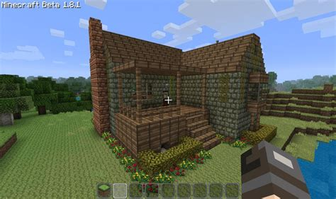 Cottage Minecraft by Starter Home Cottage Minecraft Project