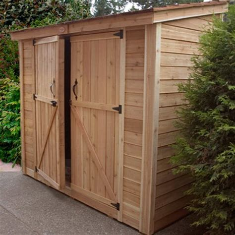 outdoor living today ssd spacesaver  storage shed