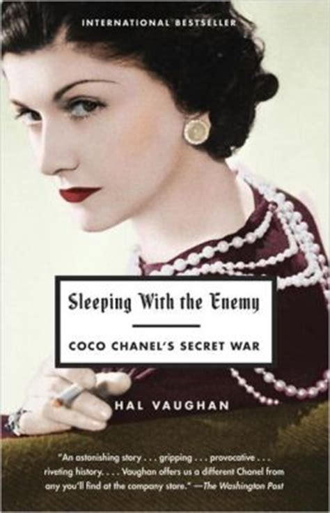 coco chanel biography author sleeping with the enemy coco chanel s secret war by hal