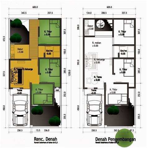 contoh gambar denah rumah minimalis terbaru kumpulan aplikasi