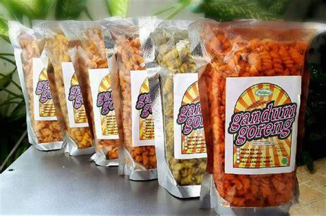 jual gandum goreng cemilan sehat snack makanan ringan