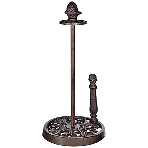 bed bath and beyond paper towel holder cast iron paper towel holder bed bath beyond