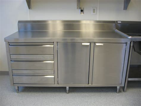 Kitchen Island With Shelves by Stainless Steel Cabinet Allied Stainlessallied Stainless