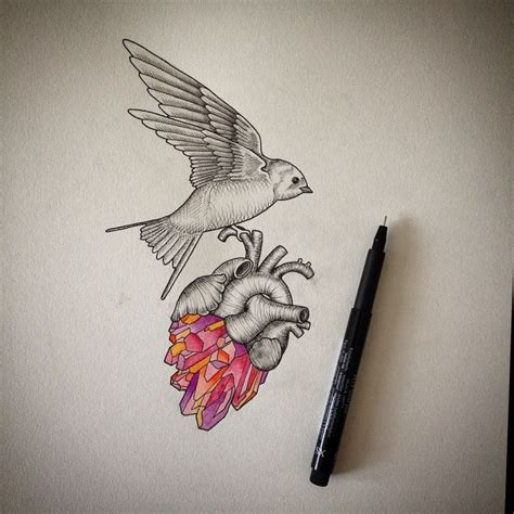 anatomical heart tattoos 35 sensitive anatomical designs