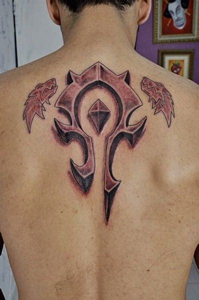 horde tattoo tattoos for gamer ideas for guys