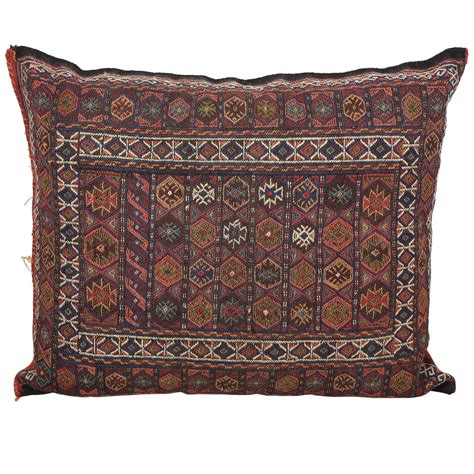 moroccan tribal kilim floor pillow at 1stdibs