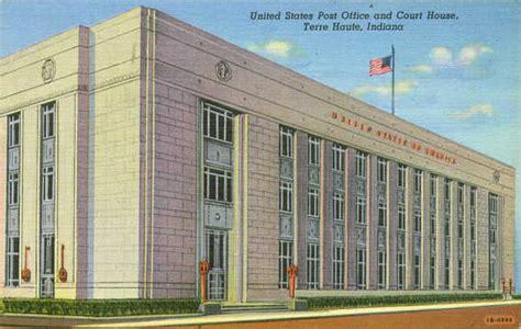 terre haute postcards post office