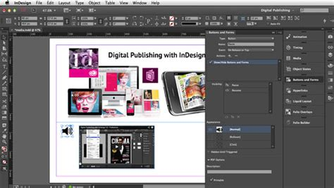 in design tutorial indonesia digital publishing with indesign cc audio files