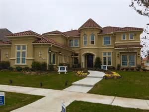 Best Rebate On New Homes Update Frisco Richwoods R Landon Signature Stucco Model Opens At Richwoods