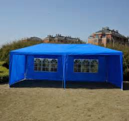 Gazebo Canopy Tent by 10 X 20 Blue Gazebo Party Tent Canopy