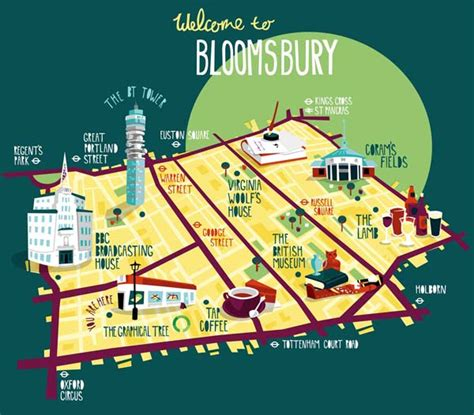 map designer borough map illustrationsart and design inspiration