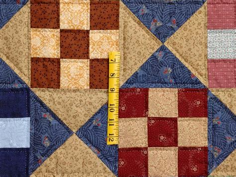 nine patch quilt magnificent skillfully made amish