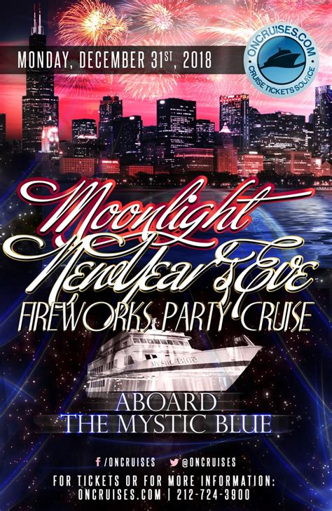 new years eve boat cruise chicago moonlight new year s eve fireworks party cruise mystic