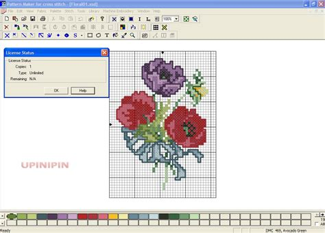 cross stitch pattern maker program free reverse it pattern maker for cross stitch v4 0 5