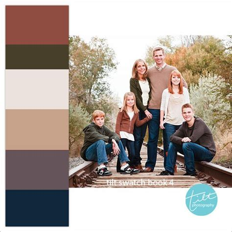 family photo color schemes family photo color schemes with swatches for reference