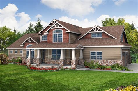 Craftsman Home Plans by Craftsman House Plans Tillamook 30 519 Associated Designs