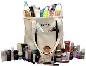 Self Magazine Giveaways - sweepstakes self magazine beauty bag giveaway
