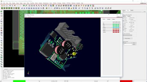 download layout orcad 16 2 3d pcb med orcad allegro pcb editor 17 2 youtube